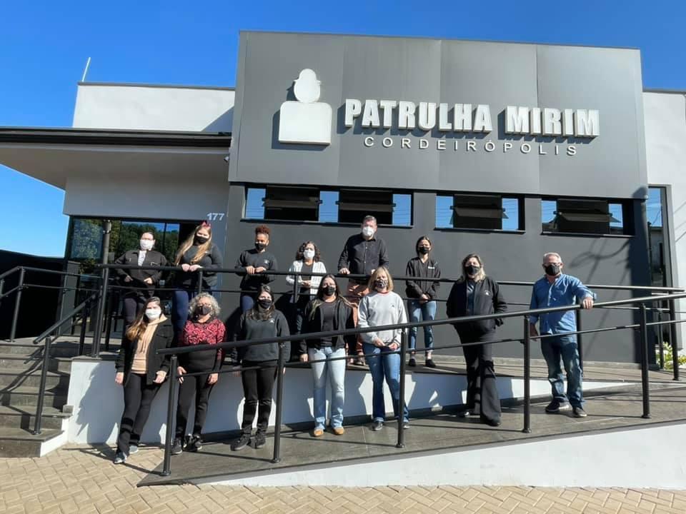 Patrulha Mirim de Cordeirópolis recebe nova sede