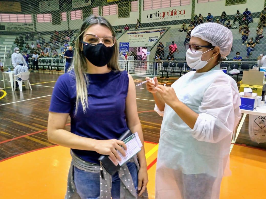 Mais de 1.400 doses aplicadas no último mutirão em Cordeirópolis