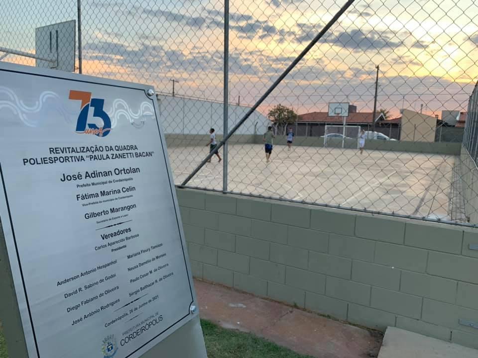 Prefeitura entrega mais cinco obras e investimentos nas áreas de Esporte, Lazer, Assistência Social e Segurança