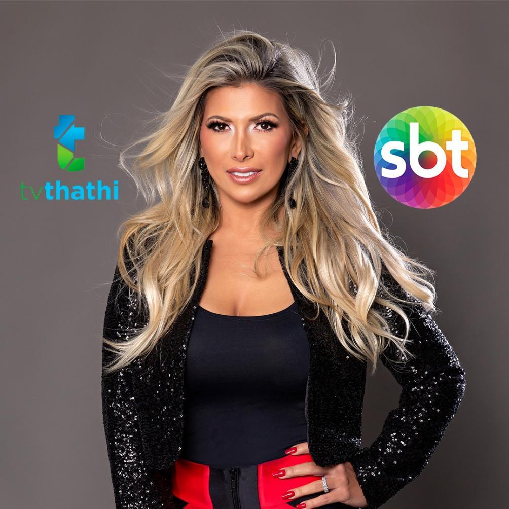 Alto astral e muitas informações serão as apostas de Fernanda Comora em novo programa diário no SBT VALE