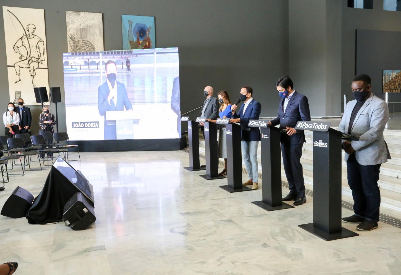 Doria lança Bolsa Empreendedor para apoio a 100 mil autônomos informais em situação de vulnerabilidade