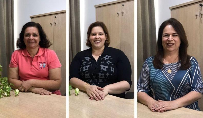 Homenagens para as profissionais do Centro Infantil Martha Salibe Abrahão e da Coordenação de Projetos Especiais